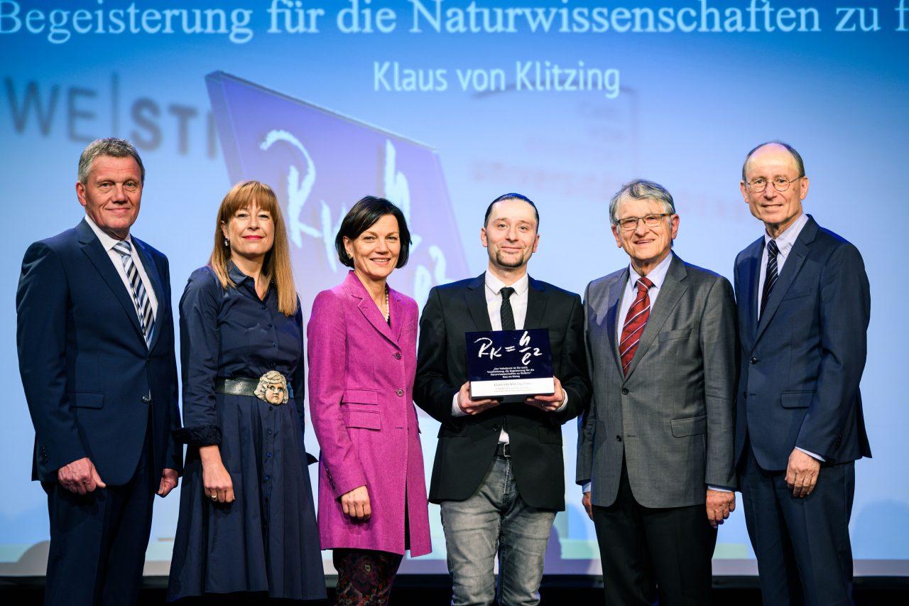 Klaus von Klitzing Preis 2019 - Pressefoto