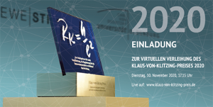 Einladung Preisverleihung 2020
